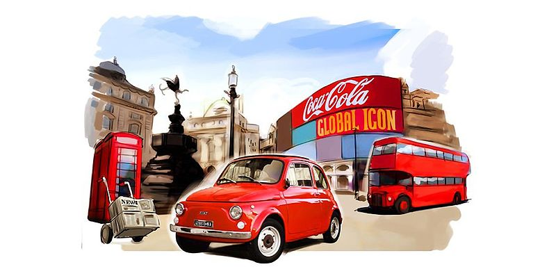 "Fiat 500 Forever Young: Die globale Ikone im London der ""Swinging Sixties"""